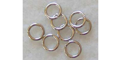 buigring 6mm zilver