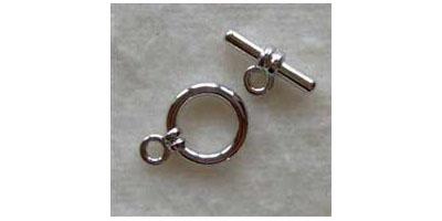 kapittelsluiting 15mm zilver