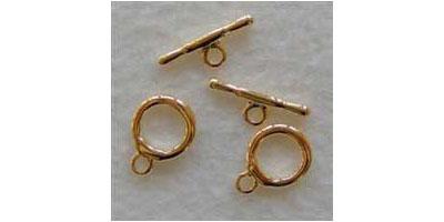 kapittelsluiting 15mm goudkleur