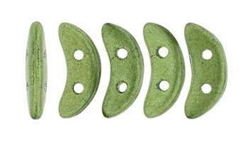 crescent saturated metallic sage green