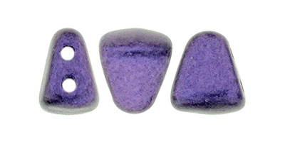 nib-bit metallic suede purple