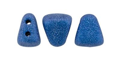 nib-bit metallic suede blue