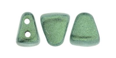 nib-bit metallic suede light green