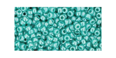 toho rocaille opaque lustered turquoise