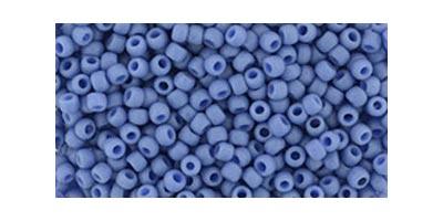 toho rocaille semi glazed soft blue