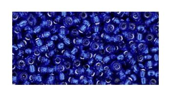 toho rocaille silverlined cobalt