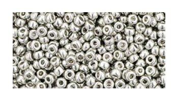 toho rocaille metallic silver silver