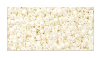 Toho delica 11/0 Opaque lustered navajo white