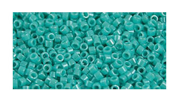 Toho delica 11/0 Opaque lustered turquoise