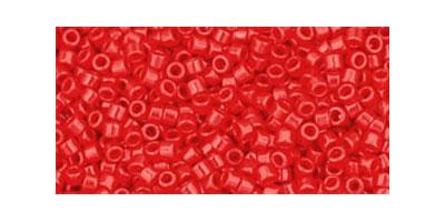 Toho delica 11/0 Opaque cherry