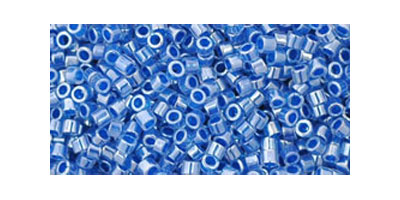 Toho delica 11/0 ceylon denim blue