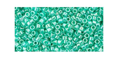 Toho delica 11/0 Ceylon light sea green