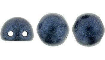 cabochon metallic suede dark blue