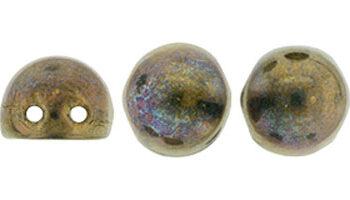 cabochon oxidized bronze