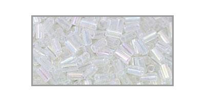 toho bugle transparant rainbow crystal