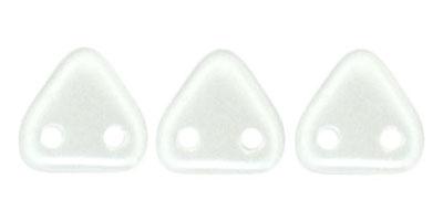 triangle pearl coat snowflake