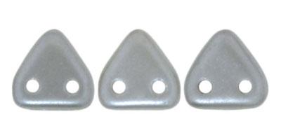 triangle pearl coat silver