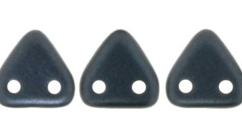 triangle pearl coat hematite