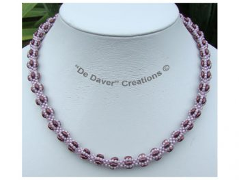Collier Lana Amethyst - Grape mist