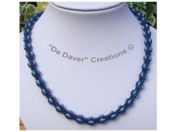 Collier Lana Blue turquoise - Nebula