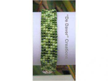 Armband olijfgroen - groen