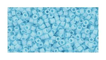 Toho delica 11/0 opaque blue turquoise