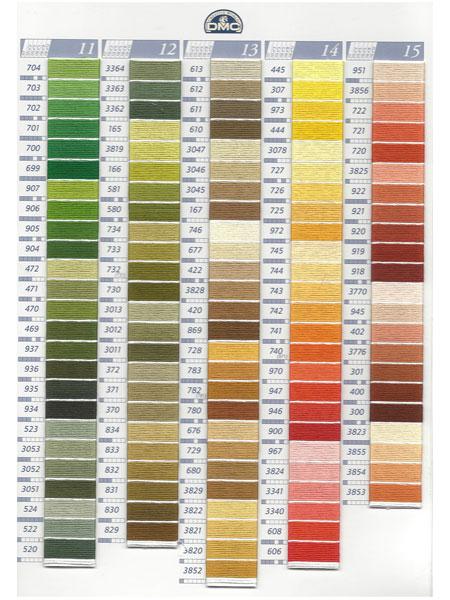 dmc kleurkaart mouline borduurgaren 3