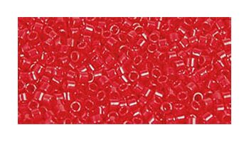 toho delica opaque pepper red