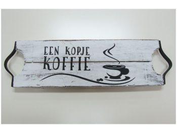 dienbald kopje koffie antique white