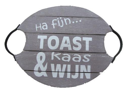 deinblad Ha fijn toast kaas & wijn