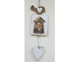 hanger vogel - huis - hart