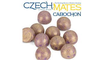 2-hole cabochon