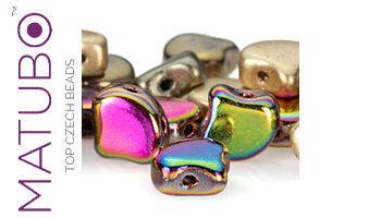 Ginko Leaf Beads