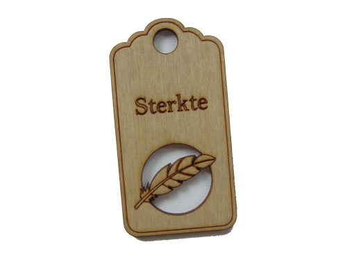 houten label sterkte