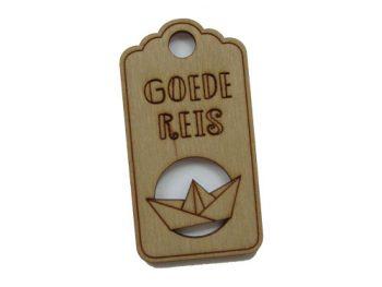 houten label goede reis