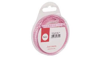 lint roze-wit geblokt