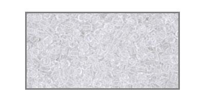 toho-11/0 transparant crystal