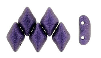 gemduo metallic suede purple
