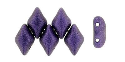 gemduo metallic suede purple