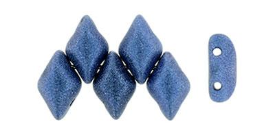 gemduo metallic suede blue