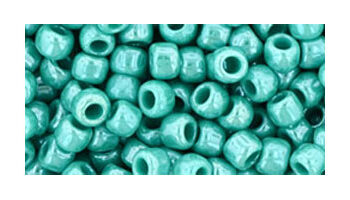 toho 6/0 opaque lustered turquoise
