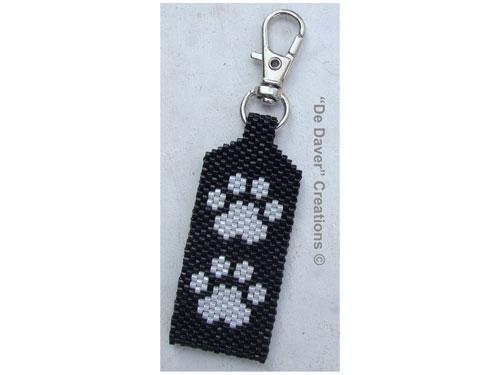 Pakket tag honden/poezenpootjes black
