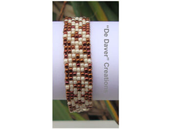 Youtube pakket armband olympic bronze-crème