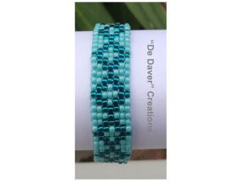 Youtube pakket armband turquoise-teal