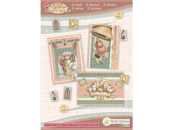 Happy Bells kaartenset paters 1