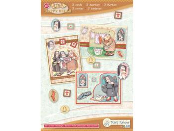 happy bells kaartenset nonnetjes
