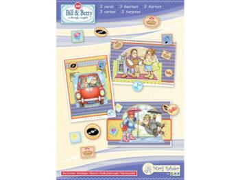 Bill & Betty kaartenset 1