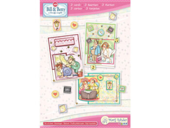 Bill & Betty kaartenset 3