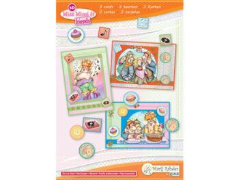 miss mimi & friends kaartenset 1