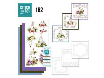 stitch & do christmas arrangement